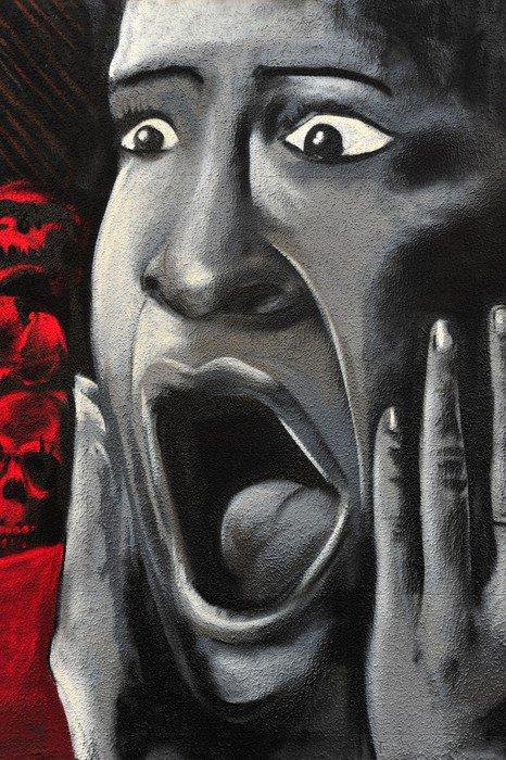 Canvas Print Scream - Themes