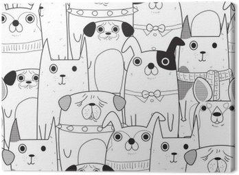Seamless Dogs pattern