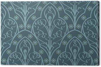 Canvas Print Seamless Elven Pattern