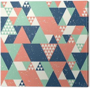 Seamless Geometric Background Canvas Print