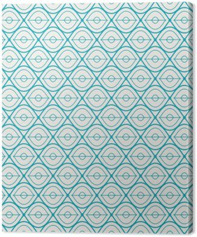 seamless geometric pattern Canvas Print