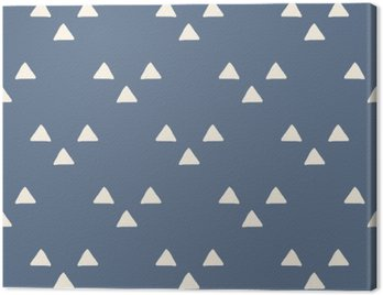 Canvas Print seamless japanese pattern