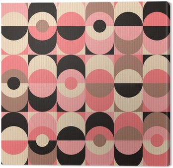 seamless vintage geometric pattern Canvas Print