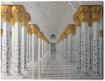 Sheikh Zayed Mosque in Abu Dhabi United Arab Emirates