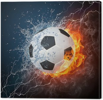 Canvas Print Soccer Ball