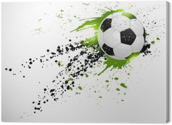 Canvas Print Soccer design