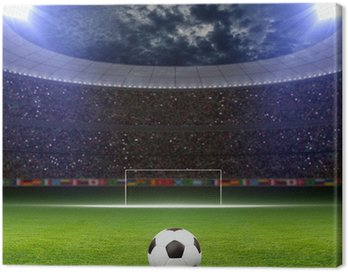 Canvas Print Soccer stadium