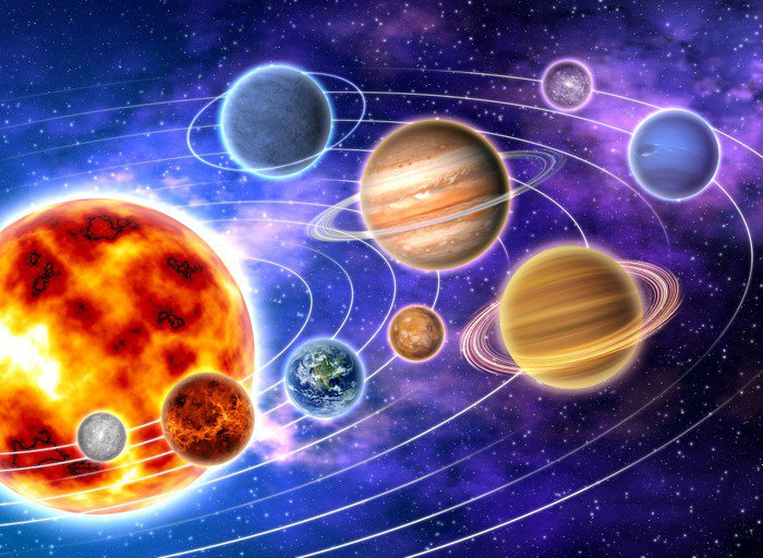 Canvas Print Solar system - iStaging