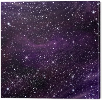 Canvas Print Space galaxy image,illustration