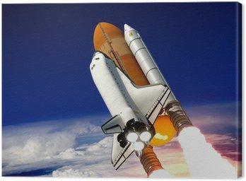 Canvas Print Space Shuttle Launch