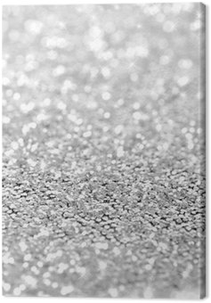 sparkle glittering abstract Canvas Print