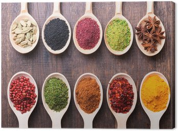 Canvas Print spices
