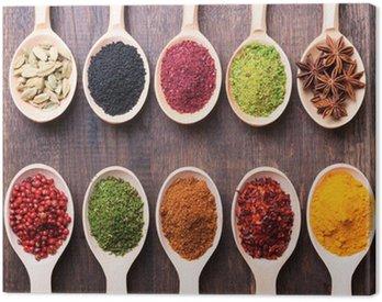 Canvas Print spices