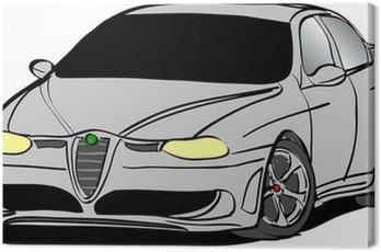 Canvas Print Sport Car