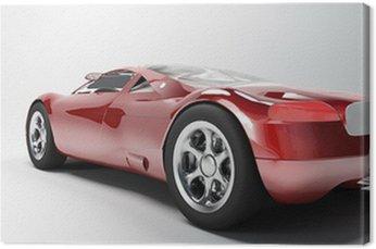 Canvas Print sports car 1