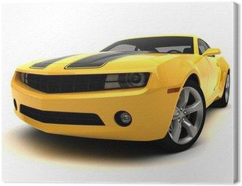 Canvas Print Sports car - Racing car