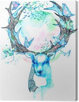 Canvas Print Spring