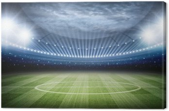 Canvas Print Stadium