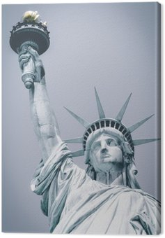 Canvas Print Statue of Liberty