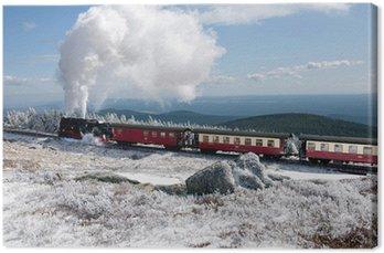 steam engine - dampflok im harz