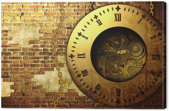 Steampunk clock