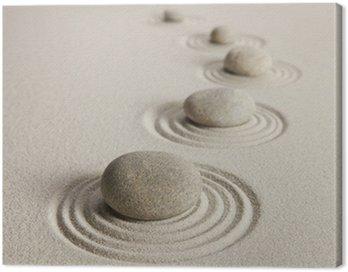 Canvas Print Stones
