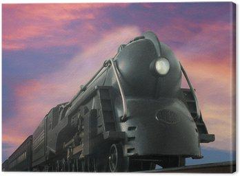 Canvas Print streamliner train