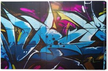 Street art graffiti Canvas Print
