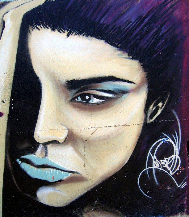 Street art Canvas Print - Themes