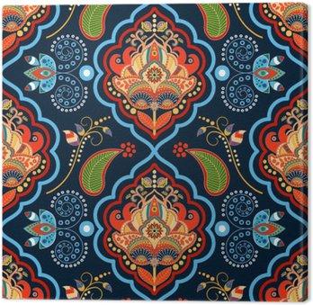 Striped seamless pattern Canvas Print