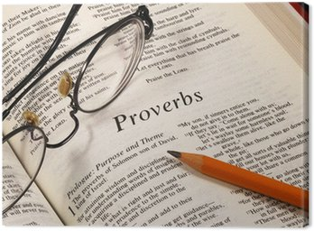Studying the Bible concepts of the faith to the religion