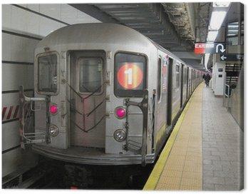 subway train Canvas Print