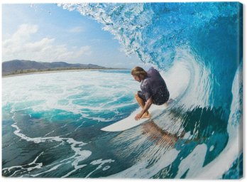Canvas Print Surfing