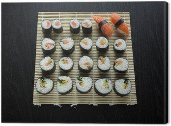 sushi - composition Canvas Print