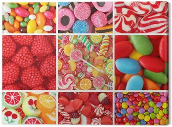 Canvas Print Sweets