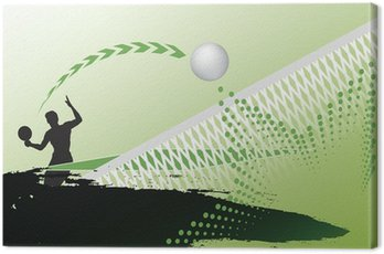 Canvas Print Table tennis