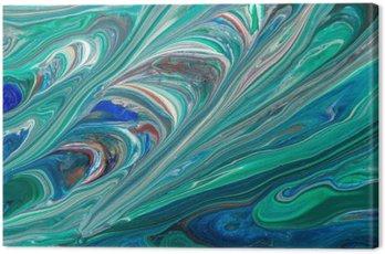 Canvas Print Textura abstrata de fundo.