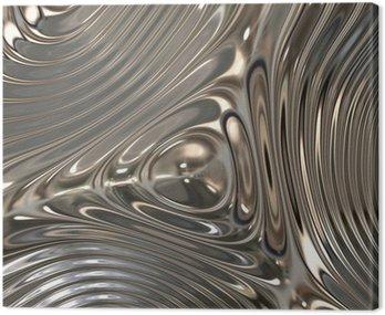 Texture of metal, Chrome