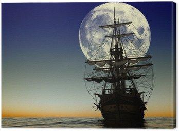 Canvas Print The ancient ship