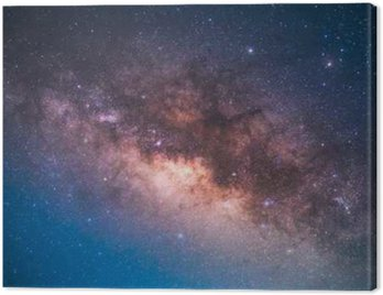 Canvas Print the center of the milky way galaxy