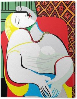 Canvas Print The Dream Pablo Picasso
