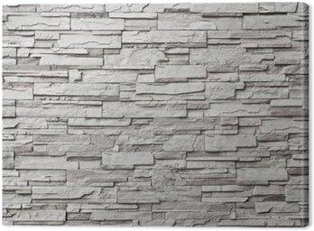 The gray modern stone wall