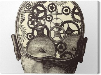 Canvas Print The mechanical brain