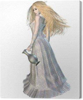 Canvas Print Tolkien's Queen of the elves