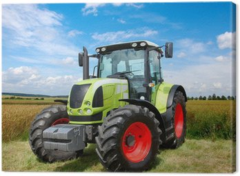 Canvas Print tractor