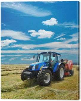 Canvas Print tractor