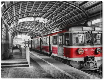 Canvas Print train