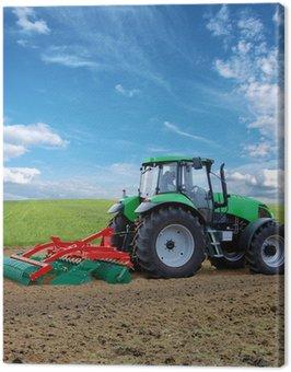 Canvas Print traktor