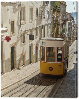 Canvas Print Tram