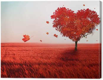 Canvas Print Tree of love